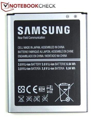 Bộ pin Lithium-Ion 6,84 Wh do Samsung sản xuất